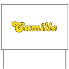 Retro Camille (Gold) Yard Sign