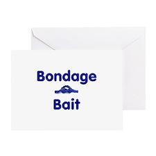 Bondage Bait Greeting Card