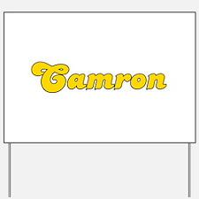 Retro Camron (Gold) Yard Sign