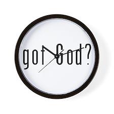 Got God? Wall Clock