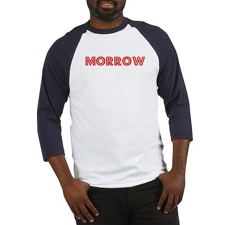 Retro Morrow (Red) Baseball Jersey