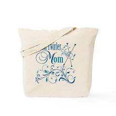 Baton Twirler Mom Tote Bag