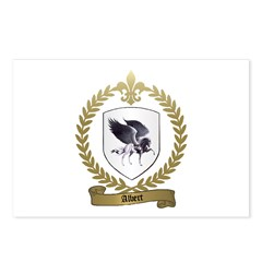 ALBERT Family Crest Postcards (Package of 8)