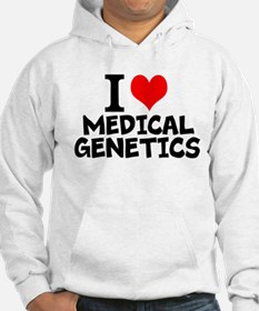I Love Medical Genetics Sweatshirt