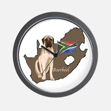 BOERBOEL MAP Wall Clock