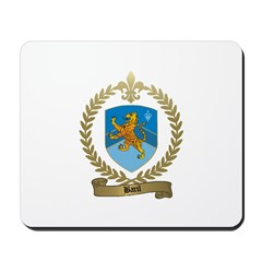 BARIL Family Crest Mousepad