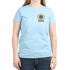 BARIL Family Crest Women's Pink T-Shirt