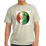 Iraq Veteran (Front) Ash Grey T-Shirt