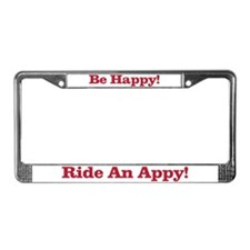 Cute Happy appy License Plate Frame