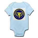 United States Army Reserve Infant Creeper