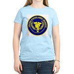 United States Army Reserve (Front) Women's Pink T-