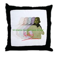 Napoleon quote Throw Pillow