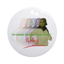 Napoleon quote Ornament (Round)