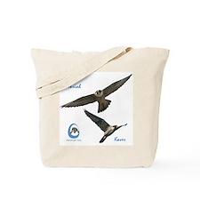 Cute Peregrine falcon Tote Bag