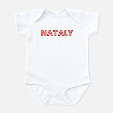 Retro Nataly (Red) Infant Bodysuit