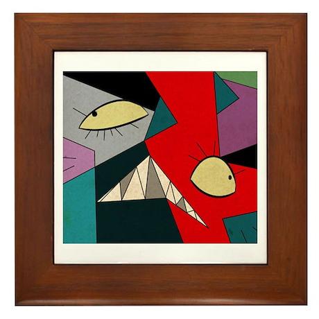 AbstractBruce2 Framed Tile
