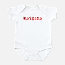 Retro Natasha (Red) Infant Bodysuit
