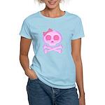 Pink Skull Women's Light T-Shirt