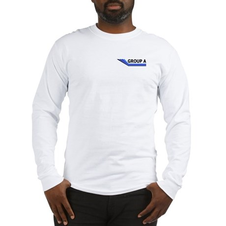 Group A/RAS Long Sleeve T, front/rear print