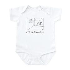 R in isolation Infant Bodysuit