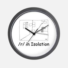 R in isolation Wall Clock
