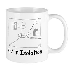 R in isolation Mug