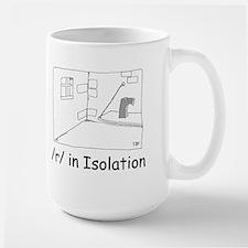 R in isolation Mug