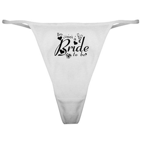 Bride To Be Classic Thong