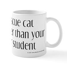 Nice rescue cat Mug