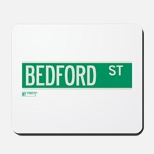 Bedford Street in NY Mousepad