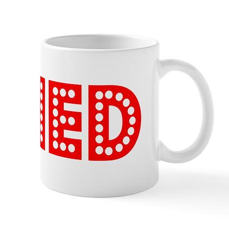 Retro Ned (Red) Mug