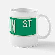 Stanton Street in NY Mug