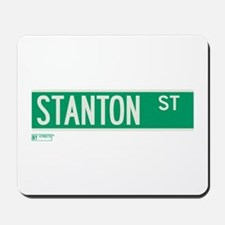 Stanton Street in NY Mousepad