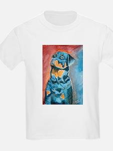 """""""Idol"""" a Rottweiler Kids T-Shirt"""