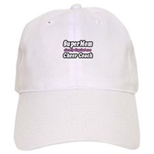 """SuperMom...Cheer Coach"" Baseball Cap"