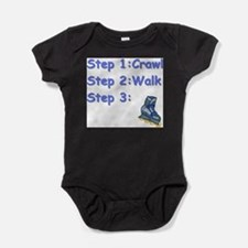 Roller Blading Baby Body Suit