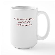 House at R'yleh (BigRed) Mug
