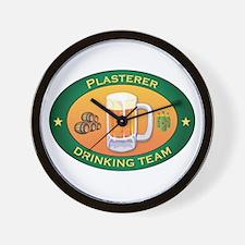 Plasterer Team Wall Clock