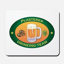 Plasterer Team Mousepad