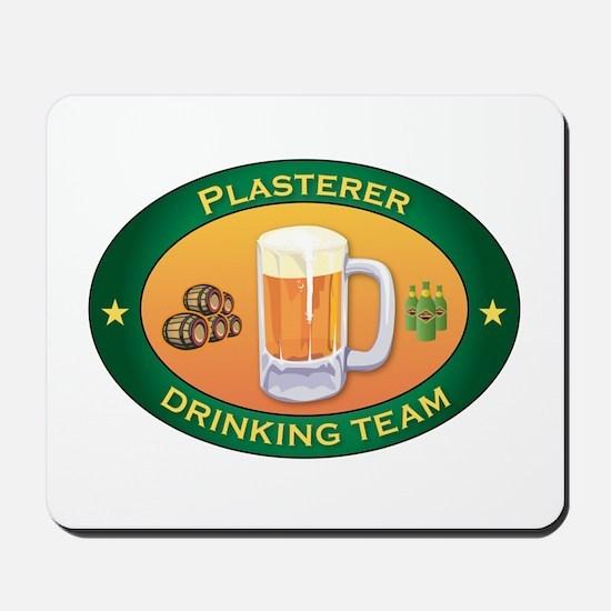 Plasterer Team Mousepad
