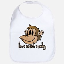 I'm a smart monkey Bib