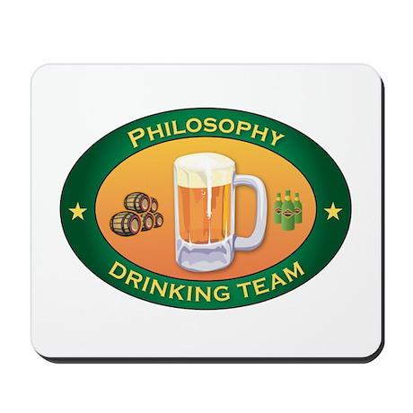 Philosophy Team Mousepad