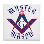 The Master Masons Tile Coaster