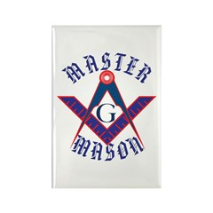 The Master Masons Rectangle Magnet (10 pack)
