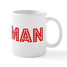 Retro Newman (Red) Mug