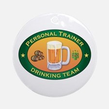 Personal Trainer Team Ornament (Round)
