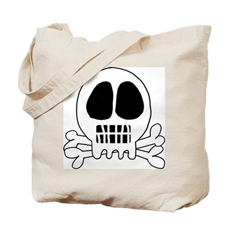 Skull or Skeleton Tote Bag