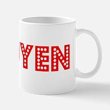 Retro Nguyen (Red) Mug