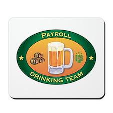 Payroll Team Mousepad
