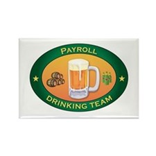 Payroll Team Rectangle Magnet